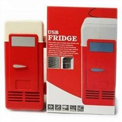 Novelty Mini USB PC Fridge Refrigerator Drink Cans Cooler & Warmer
