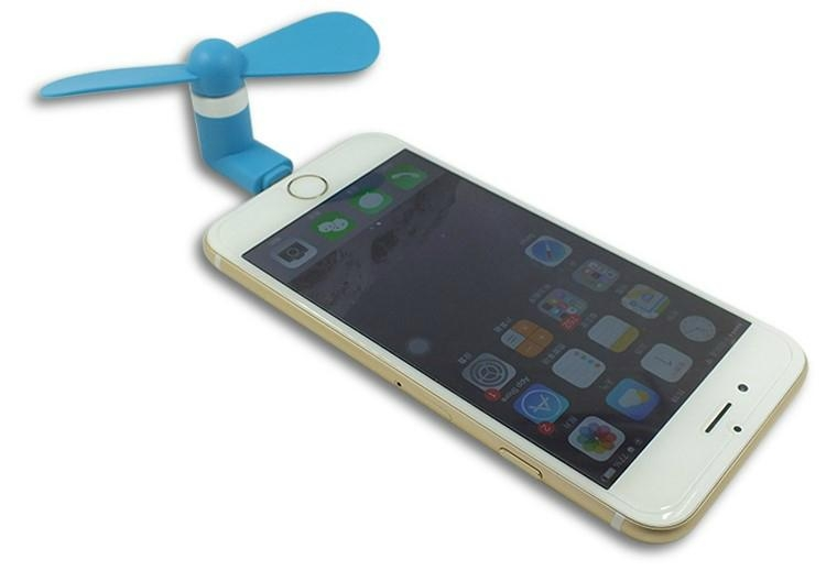 Mini Desk Fan for iphone and Power Bank Notebook 5
