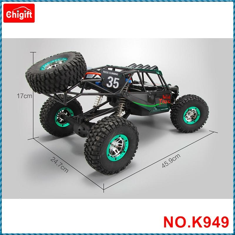 WLtoys K949 1/10 2.4GHz 4WD RC Climbing Short Course Truck Dirt Drift bike RTR 4