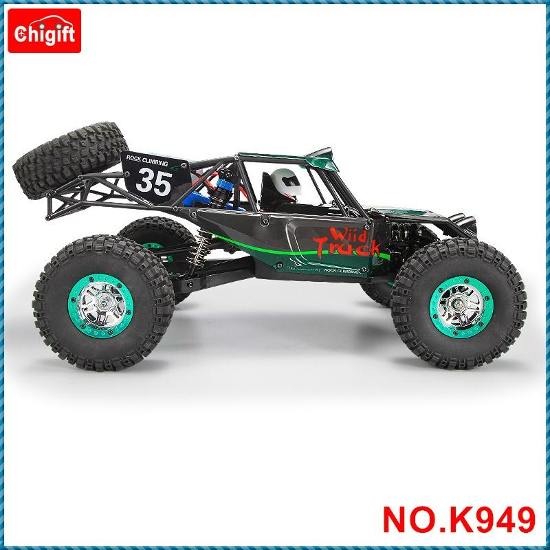 WLtoys K949 1/10 2.4GHz 4WD RC Climbing Short Course Truck Dirt Drift bike RTR 6