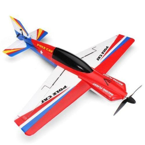 WLtoys F939 2.4G 4CH EPS Micro Pole Cat RC Airplane 3