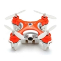 Cx-10c Cx10c Mini 2.4G 4CH 6 Axis RC Quadcopter with 0.3MP Camera