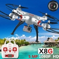 original Syma x8G 2.4G RC Quadcopter syma rc drone with 8MP 1080P camera