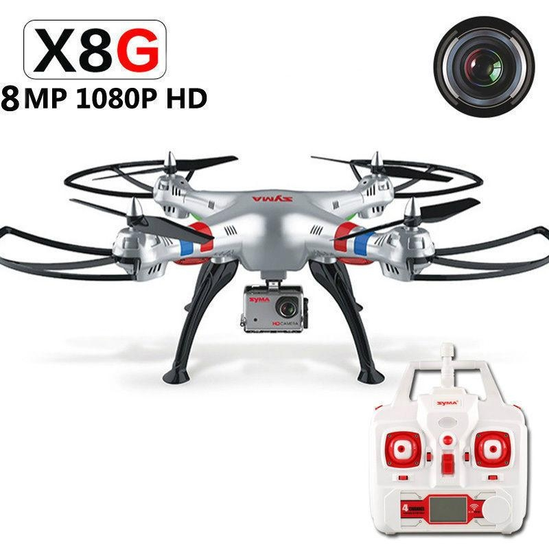 original Syma x8G 2.4G RC Quadcopter syma rc drone with 8MP 1080P camera  6