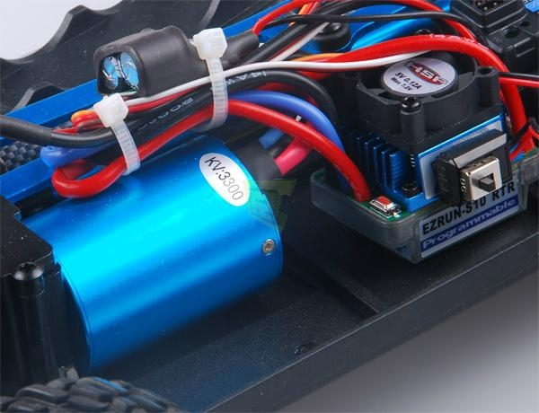 1/10 scale Brushless rc car truck hsp 94170pro 2s lipo 7