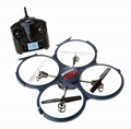NEW 818AHD  2.4G 4CH RC Quad Copter with 720p HD Camera