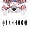 CX-10W 4CH 2.4G 6-Axis Gyro RC Quadcopter Wifi APP Control Drone w/ 0.3MP Camera