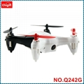 WLtoys Q242G 2.4GHz 6-axis Mini RC Quadcopter with 2.0MP 5.8GHz FPV 3