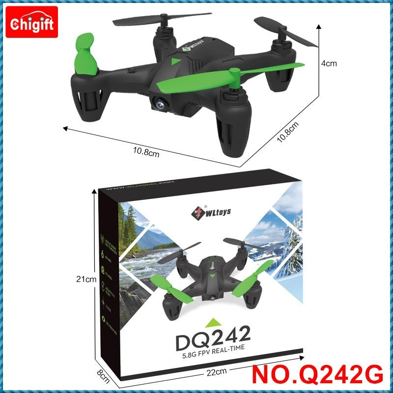 WLtoys Q242G 2.4GHz 6-axis Mini RC Quadcopter with 2.0MP 5.8GHz FPV 5