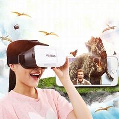 VR BOX Virtual reality headset 3D Glasses VR Google Cardboard Glasses For iPhone
