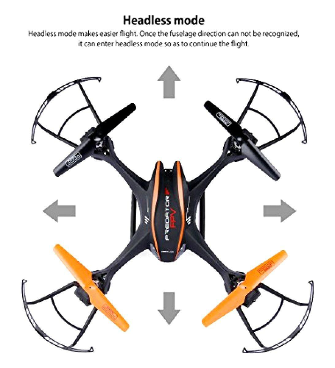 U842 Predator WiFi FPV Drone With HD Camera 24G 4CH 6 Axis Gyro RTF 4