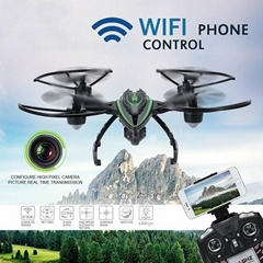 JXD 510W 2.4G 4CH 6-Axis Wifi FPV Camera Drone RC Quadcopter