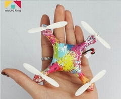 Gift Promotion Mini UAV 2.4G 4CH 6-Axis Colorful Super Mini Drone