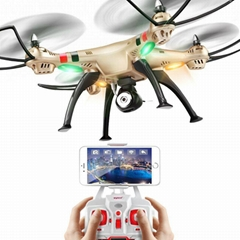 Syma X8HW WIFI FPV HD Camera  2.4G 4CH 6Axis Altitude Hold RC Quadcopter RTF
