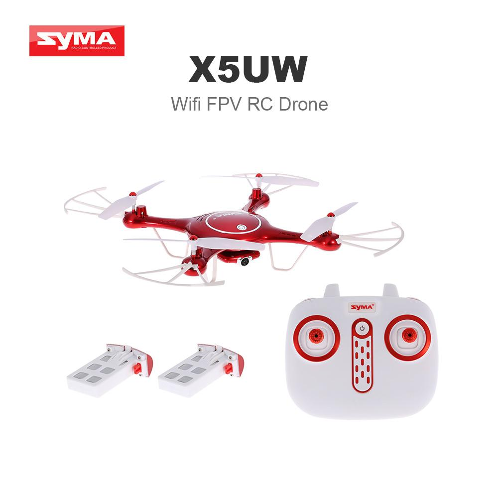 Syma X5UW Drone Real Time Wifi HD Camera RC Quadcopter