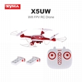Syma X5UW Drone  Real-time Wifi HD Camera  RC Quadcopter