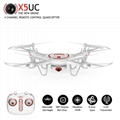 SYMA X5UC RC Quadcopter 2.4G 4CH 6Axis 720P 2MP HD Camera RC Drone