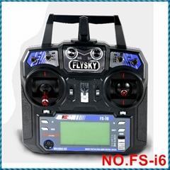 FS-I6 I6 2.4G 6CH RC Remote Control Transmitter with FS- iA6B Receiver
