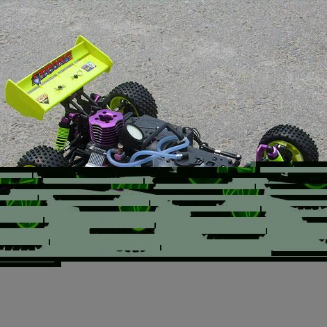 HSP 94106 1/10 Nitro RC BUGGY  5