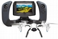 U28-1 FPV Quadcopter Drone with HD Camera, 4.3 Inch LCD Display Screen