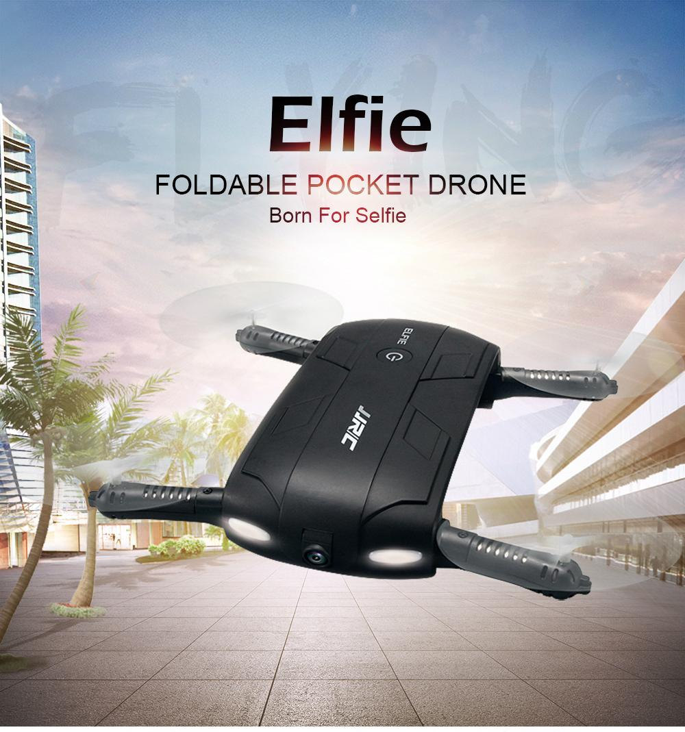 JJRC H37 ELFIE   WIFI FPV Mini Drone RC Quadcopter with 720P HD Camera  1