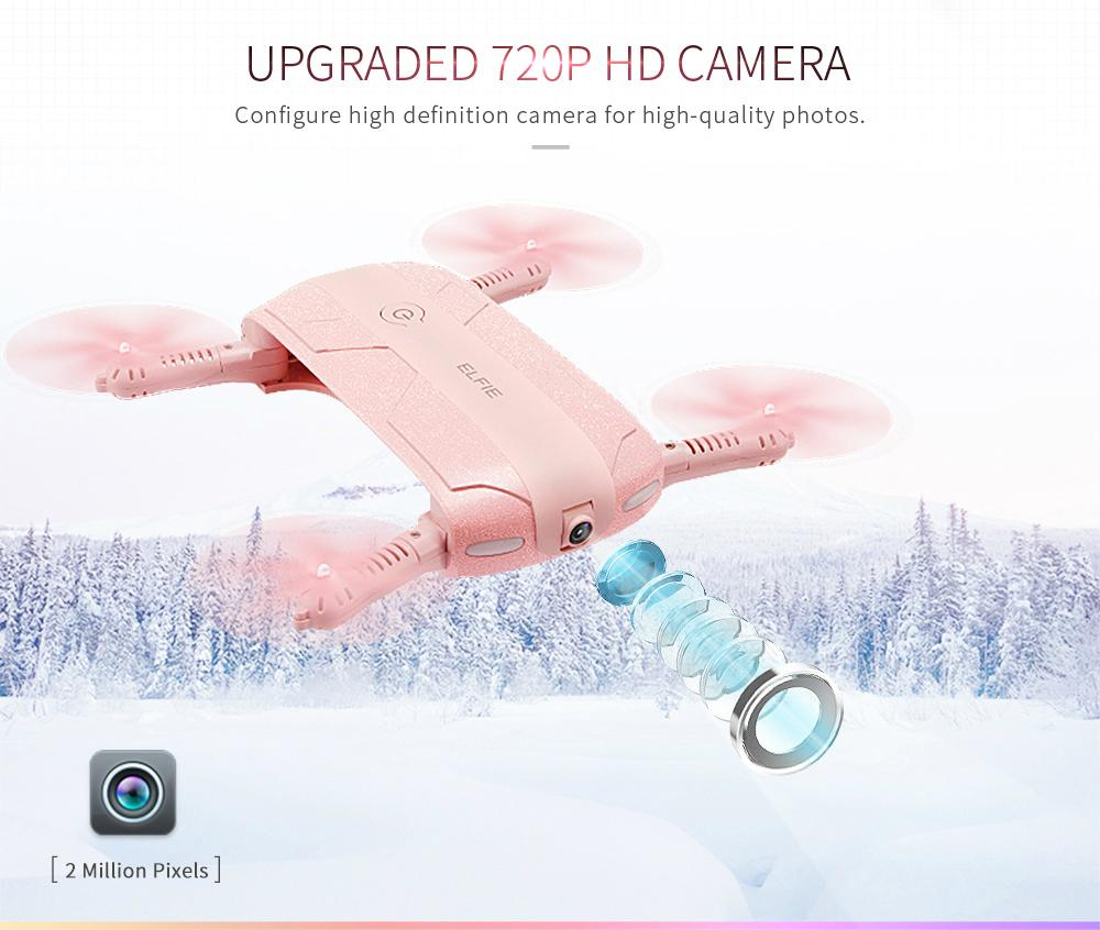 JJRC H37 ELFIE 4CH 6-Axis Gyro WIFI FPV Mini Drone RC Quadcopter with HD Camera  6