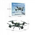 2.4GHz 4 CH 6 Axes Gyro S5C rc drone quadcopter with camera  2