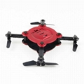 Pocket drone JD-12  FQ17W  foldable WIFI camera rc quadcopter drone