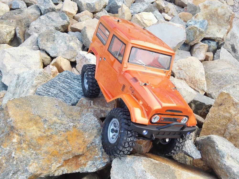 RGT 136100 Electric Racing 4wd Off Road Rock Crawler Rc Car Rock Cruiser RC  3