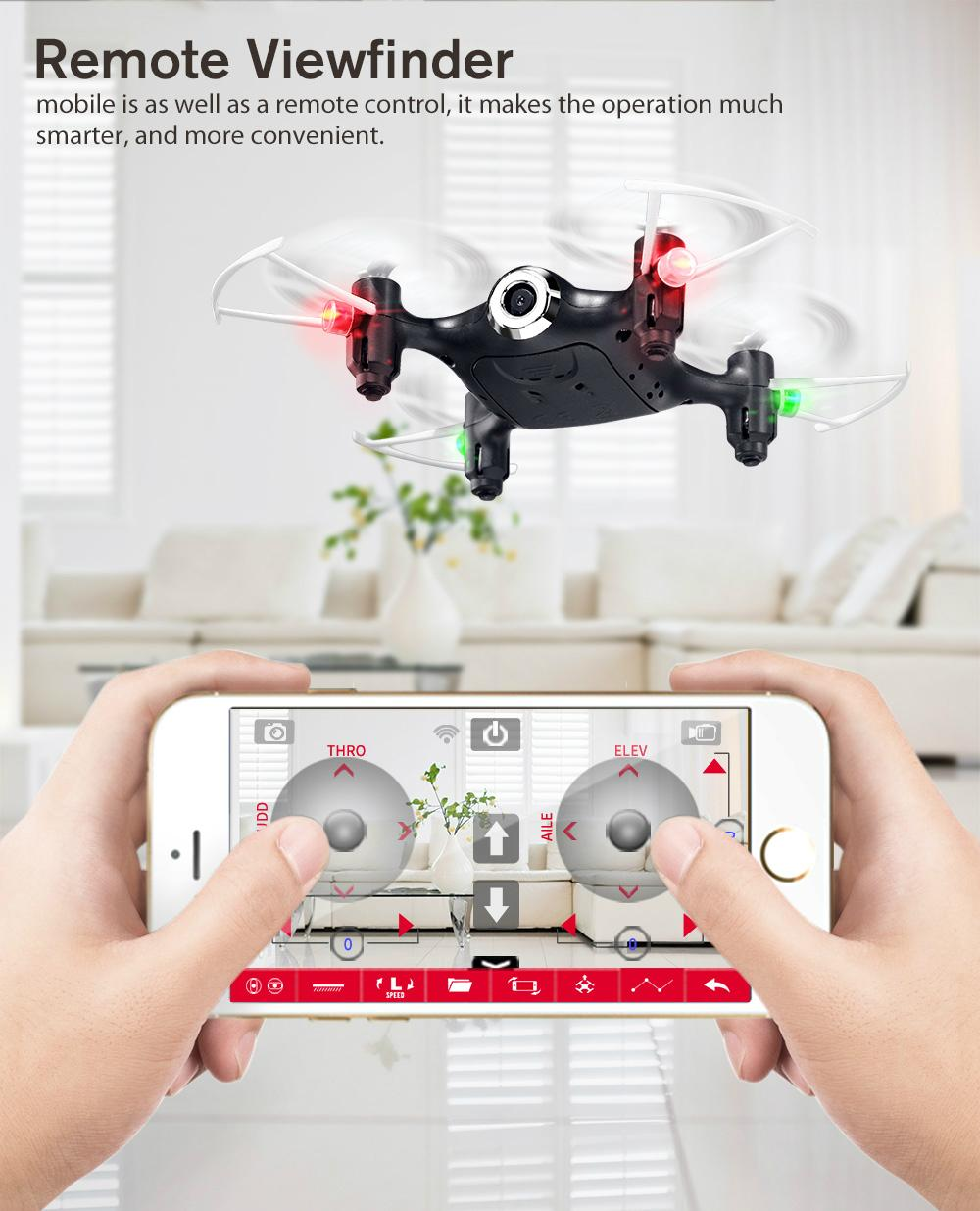 SYMA X21W Mini drone with camera WiFi FPV 720P HD 2.4GHz 4CH 6-axis RC Helicopte 10