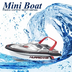 Radio RC Remote Control Super Mini Speed Boat Dual Motor Kids Toy