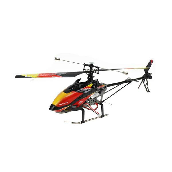 WL V912 Super 2.4G Single Blade 4CH RC Helicopter RTF 2