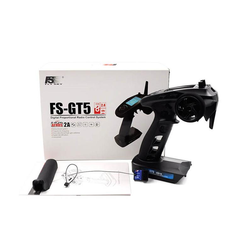 FS-GT5 2.4G 6CH Transmitter with FS-BS6 Receiver Built-in Gyro Fail-Safe  9