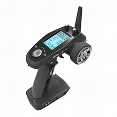 FS-GT5 2.4G 6CH Transmitter with FS-BS6 Receiver Built-in Gyro Fail-Safe