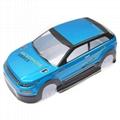 1/10 scale Print PC Body shell rc car