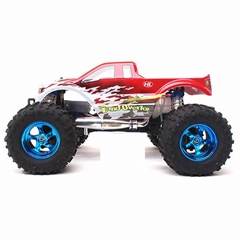 3850-2 1/8 4WD  rc nitro truck With  28CXP Engine