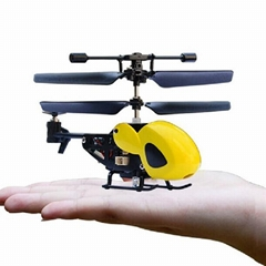 QS5010 Mini Radio Controlled 3.5 Channel helicopter (world's smallest)