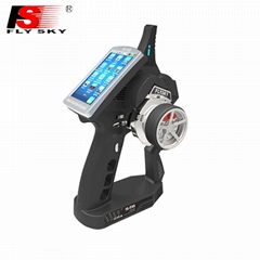New FS-iT4s  2.4G 4CH RC System Transmitter/Receiver with Touch Screen
