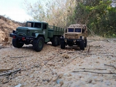 WPL B-24 1:16 Military  Off-road Truck Remote Control Climbing Car