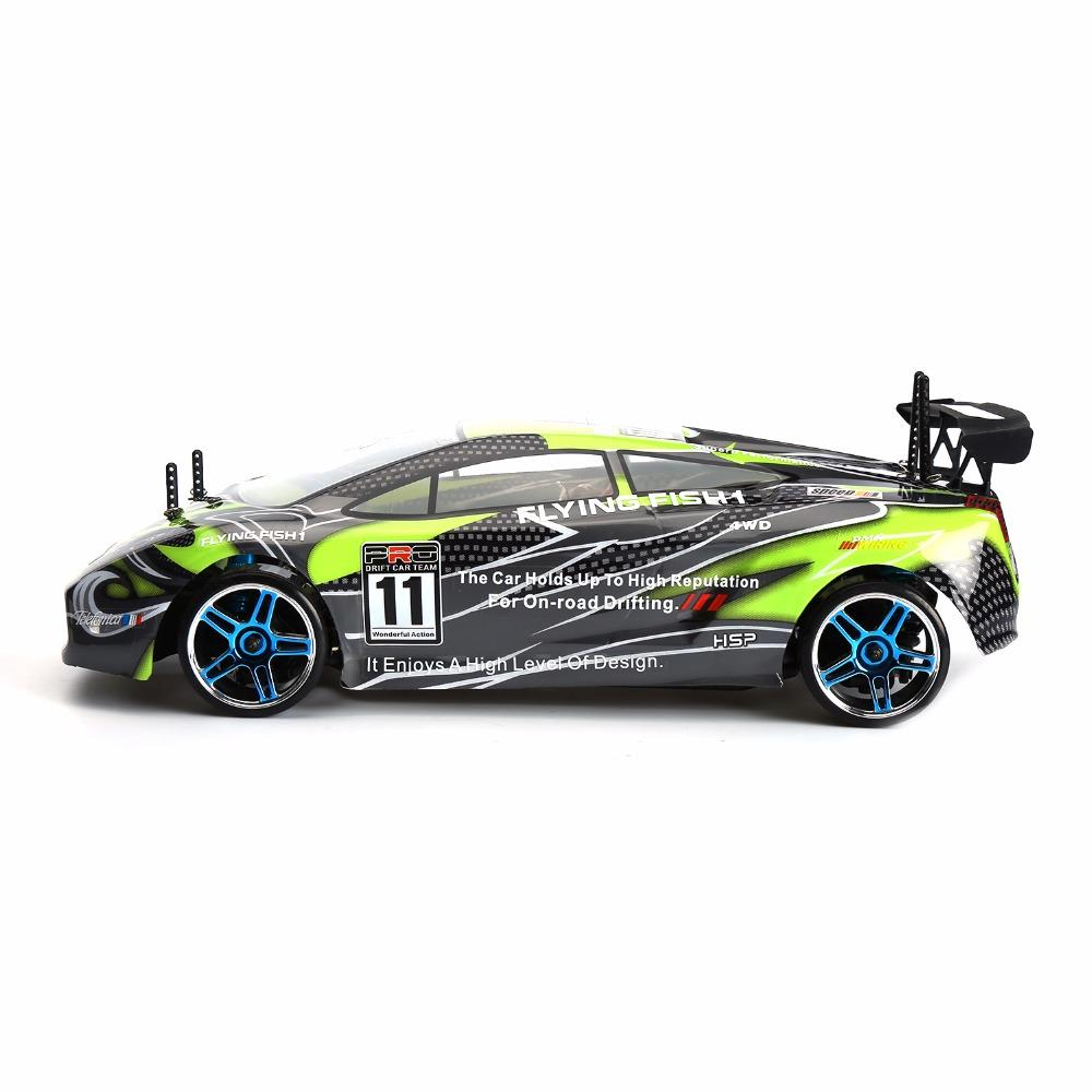 HSP RC DRIFT Car 1/10 Flying Fish Electric Radio Control Drifter Car 9