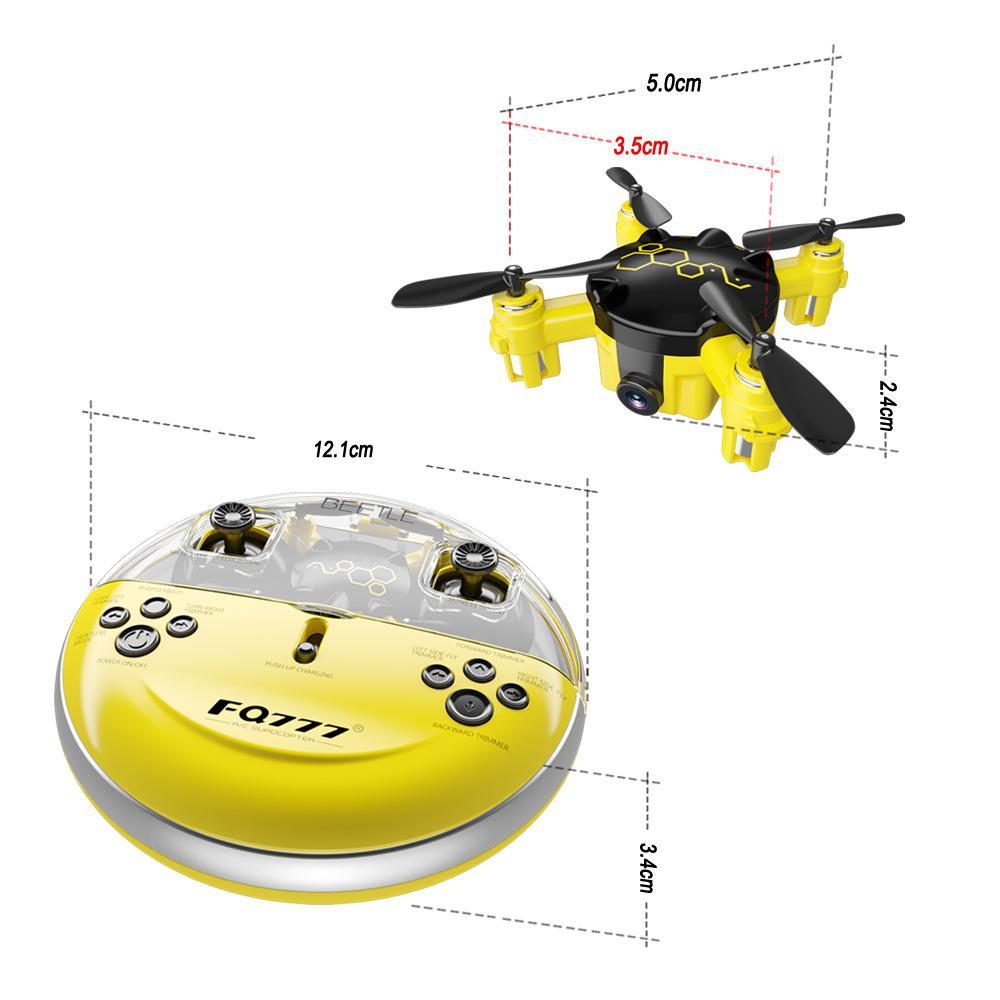 FQ04 2.4G Mini quadcopter With Camera K5 Pocket drone 6