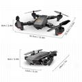 VISUO XS809W Foldable RC Quadcopter RTF WiFi  Camera Drone 2