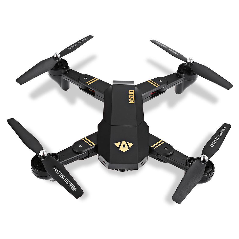 VISUO XS809W Foldable RC Quadcopter RTF WiFi  Camera Drone 4