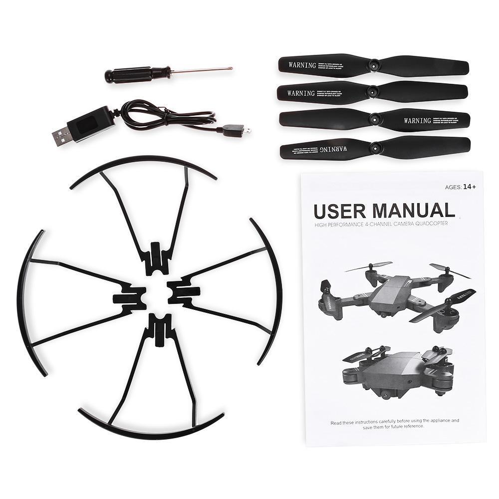 VISUO XS809W Foldable RC Quadcopter RTF WiFi  Camera Drone 12