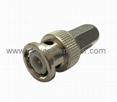 BNC twist on connector-CCTV connector-RG59 coaxial connector