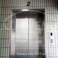 電梯之鋼板金屬骨架組立膠、五金組立膠、壓克力AB膠