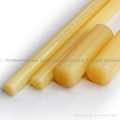Yellow Hot glue stick