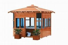 Gazebo Garden house Wooden enclosure Luxury gazebo
