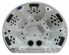 Outdoor Hot Tub Round Sp