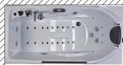 Luxury Spa Bathtub Whirlpool Bathtub Indoor Spa Mini Spa Tub